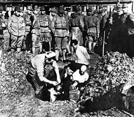 Chinese Civilians to be Buried Alive. WASN'T IT LONG BEFORE 1970?